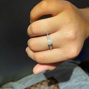Kay Jewelers diamond 1 ct tw 14kt white gold ring